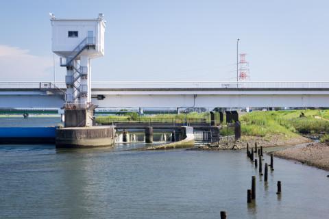 遠賀川河口堰02